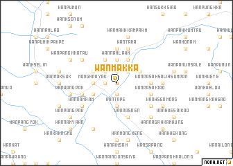 map of Wān Makkā
