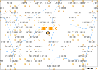 map of Wān Mawk