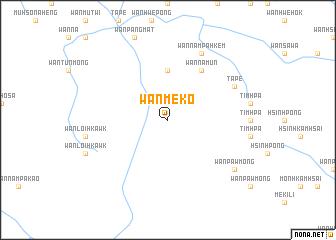 map of Wān Mè-ko