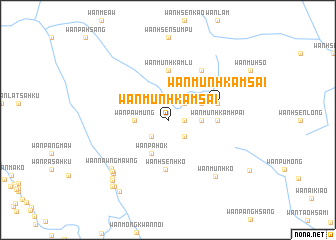 map of Wān Münhkamsai