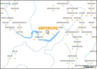 map of Wān Nā-king