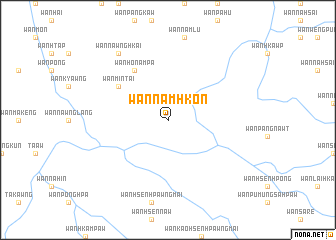 map of Wān Namhkon