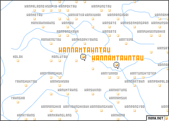 map of Wān Namtawntaü