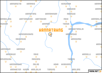 map of Wān Nā-tawng