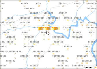 map of Wān Nawnghi
