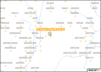 map of Wān Nawnghkam