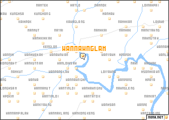 map of Wān Nawnglam