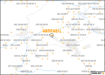 map of Wannweil