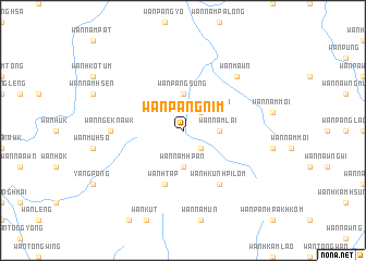 map of Wān Pangnim