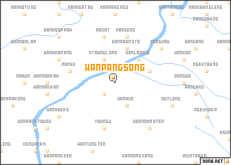 map of Wān Pāngsong