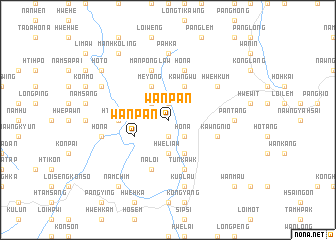 map of Wān Pan