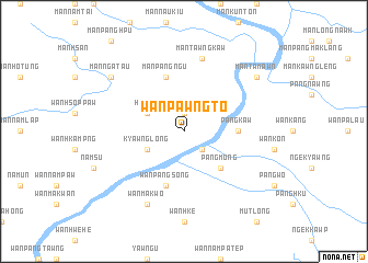 map of Wān Pawngto