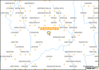 map of Wan Pu Naw