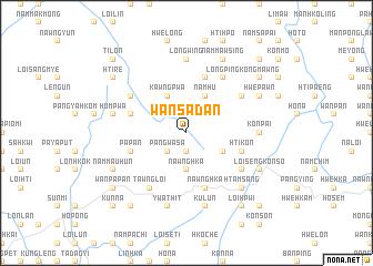 map of Wān Sa-dan