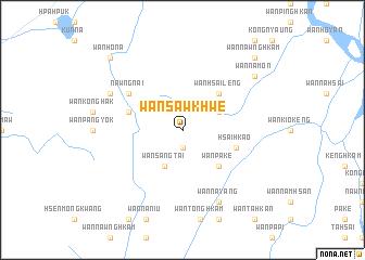 map of Wān Sawkhwe