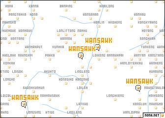 map of Wān Sawk