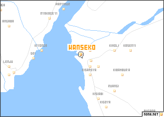 map of Wanseko