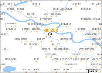 map of Wanzer