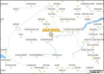 map of Wariāmāl