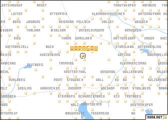 map of Warngau
