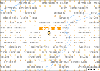 map of Wartmoning