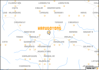 map of Warudoyong
