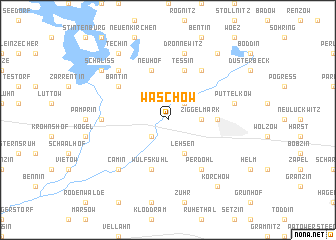 map of Waschow