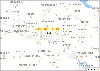 map of Washington Hill