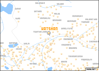 map of Watshan