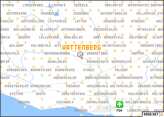 map of Wattenberg