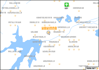 map of Wawinna