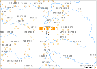 map of Wayangan