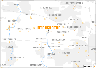 map of Wayne Center