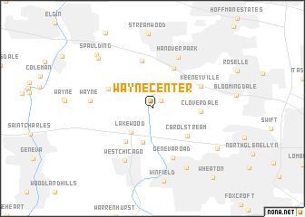 map of Wayne Center