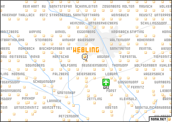 map of Webling