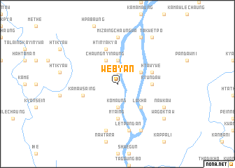 map of Webyan