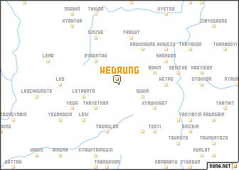 map of Wedaung