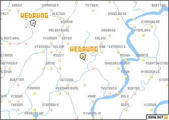 map of Wedaung