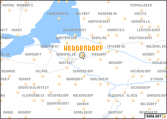 map of Weddendorf