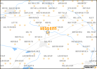 map of Weddern