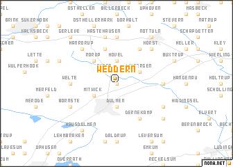 map of Weddern