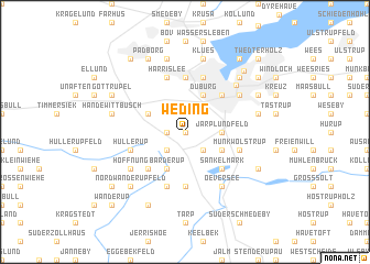 map of Weding