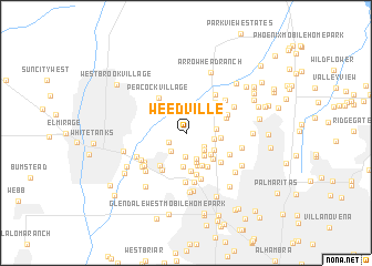 map of Weedville