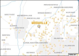 map of Weedville