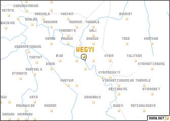 map of Wegyi
