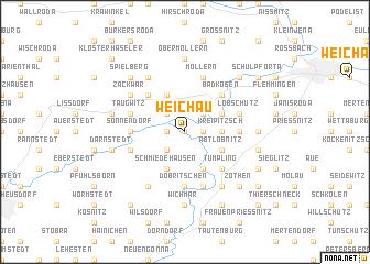 map of Weichau