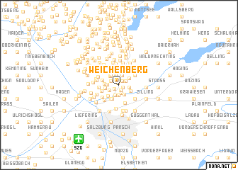 map of Weichenberg
