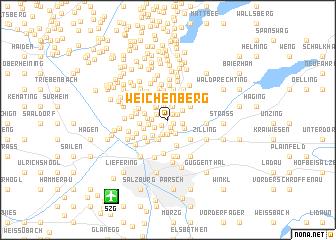 map of Weichenberg