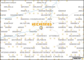map of Weichenried