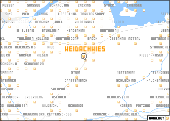 map of Weidachwies